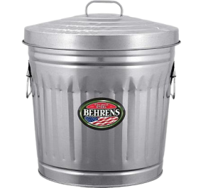 charcoal container