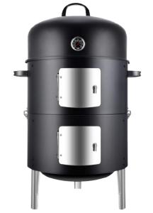 Realcook Vertical 17-inch Steel Charcoal Smoker